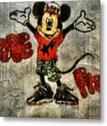 Mickey Of 11 Metal Print by Travis Hadley