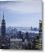 Midtown Manhattan Metal Print by Ray Warren