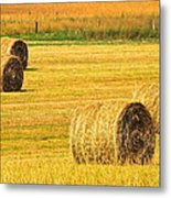 Midwest Farming Metal Print by Frozen in Time Fine Art Photography