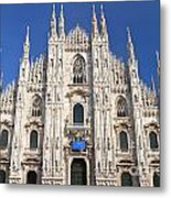 Milan Cathedral  Metal Print by Antonio Scarpi