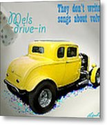 Milners Coupe Metal Print by Barry Cleveland