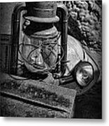 Mineworkers - The Coal Miner's Gear Metal Print by Lee Dos Santos
