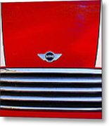 Mini Red Metal Print by Aimelle