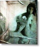 Mirror Room Metal Print by Gun Legler