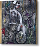 Miss Millies Greatest Show On Earth Metal Print by Kelly Jade King