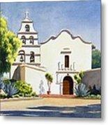Mission San Diego De Alcala Metal Print by Mary Helmreich
