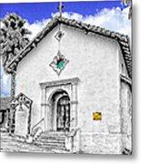 Mission San Rafael Arcangel Metal Print by Ken Evans