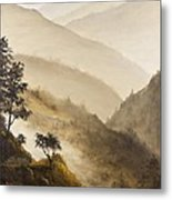 Misty Hills Metal Print by Darice Machel McGuire