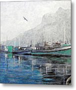 Misty Morning In Hout Bay Metal Print by Michael Durst