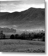 Misty Mountain Morning Metal Print by Dan Sproul