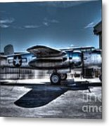 Mitchell B-25j Metal Print by Tommy Anderson