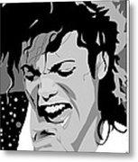 MJ Metal Print by Jayakrishnan R