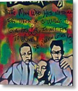 Mlk Fatherhood 1  Metal Print by Tony B Conscious