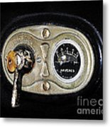 Model T Control Panel Metal Print by Al Powell Photography USA