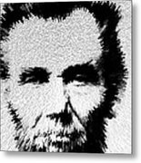 Modern Abe - Abraham Lincoln Art By Sharon Cummings Metal Print by Sharon Cummings