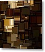 Modern Abstract Iv Metal Print by Lourry Legarde