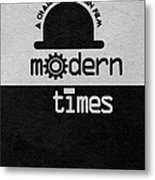 Modern Times Metal Print by Ayse Deniz