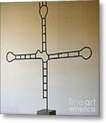 Molecular Religion Metal Print by Franco Divi