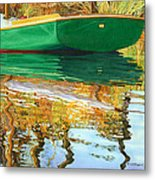 Moment Of Reflection Xi Metal Print by Marguerite Chadwick-Juner