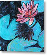 Monet's Lily Pond IIi Metal Print by Xueling Zou