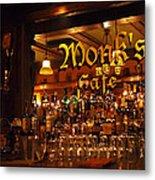 Monks Cafe Metal Print by Rona Black