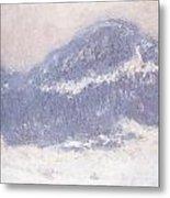 Mont Kolsaas Metal Print by Claude Monet