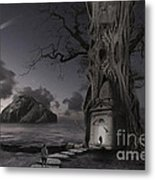 Monument Metal Print by Keith Kapple