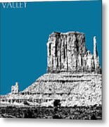 Monument Valley - Steel Metal Print by DB Artist