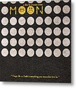 Moon Metal Print by Ayse Deniz