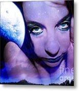 Moon Intoxication Metal Print by Heather King