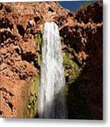 Mooney Falls Grand Canyon Metal Print by Michael J Bauer