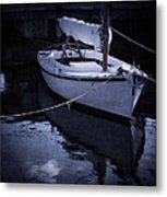Moonlight Sail Metal Print by Amy Weiss