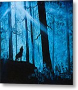 Moonlight Serenade Metal Print by C Steele