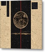 Moonset Metal Print by Carol Leigh