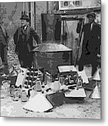 Moonshine Still Prohibition 1922 Metal Print by Daniel Hagerman