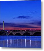 Morning Along The Potomac Metal Print by Metro DC Photography