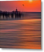 Morning Flight - A Tranquil Moments Landscape Metal Print by Dan Carmichael
