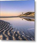 Morning On Jekyll Island Metal Print by Debra and Dave Vanderlaan