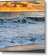 Morning Rays Square Metal Print by Bill Wakeley