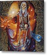 Mors Santi Metal Print by Ricardo Chavez-Mendez