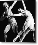 Moscow Opera Ballet Dancers Metal Print by Underwood Archives