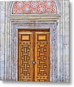 Mosque Doors 04 Metal Print by Antony McAulay