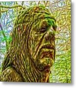 Moss Man - 02 Metal Print by Gregory Dyer