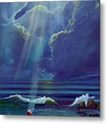 Mother Nature's Kiss Metal Print by Stephen Kenneth Hackley