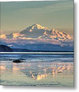 Mount Baker North Cascades National Park Metal Print by Pierre Leclerc Photography