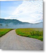 Mountain Air Metal Print by Frozen in Time Fine Art Photography
