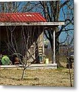 Mountain Cabin In Tennessee 1 Metal Print by Douglas Barnett