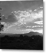 Mountain Sunset Metal Print by Tyler Cheshire