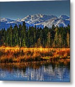 Mountain Vista Metal Print by Randy Hall