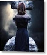 Mourning Metal Print by Joana Kruse
